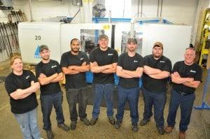 Photo of Metal Spinner Team at Church Metal